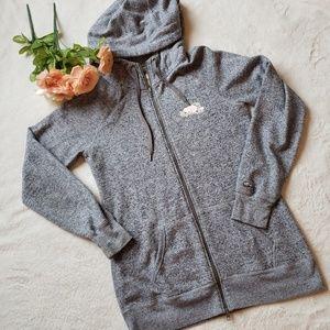 Roots Tunic zip up hoodied sweatshirt J